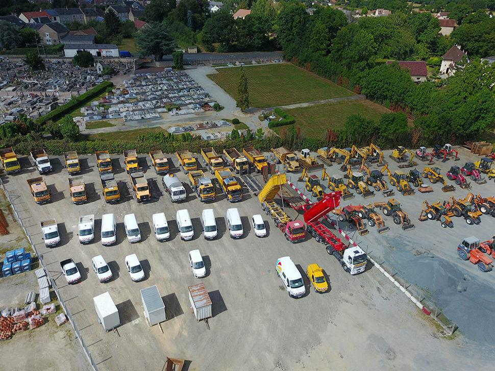 Le parc de véhicules