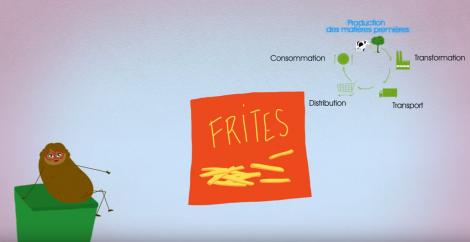 Agathe la patate en vidéo
